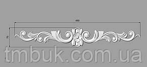 Горизонтальный декор 71 деревянная накладка - 450х70 мм, фото 2