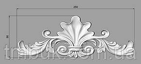 Горизонтальный декор 72 для мебели - 250х90 мм, фото 2