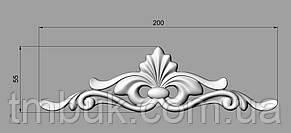 Горизонтальный декор 78 накладка из дерева - 200х55 мм, фото 2