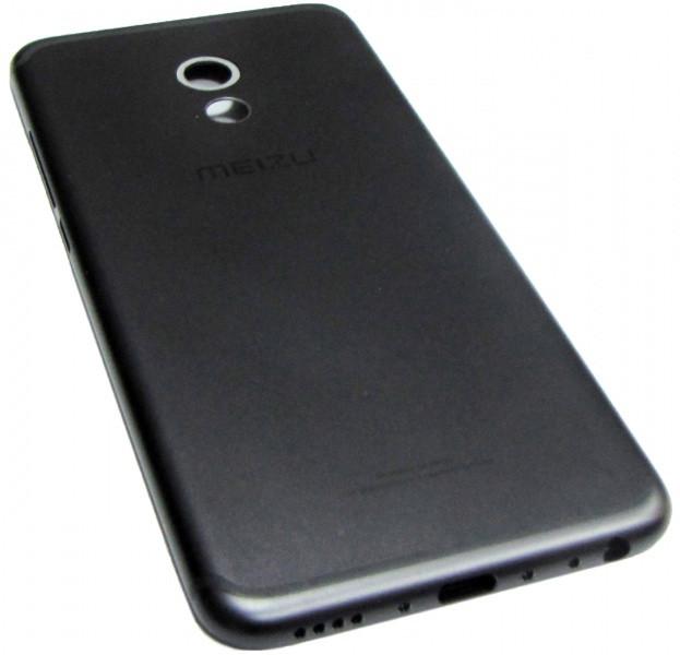 Задняя крышка Meizu Pro 6 чёрная оригинал