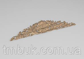 Горизонтальный декор 98 корона на двери - 850х180 мм, фото 2