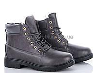 Ботики женские зимние (36-41) Cinar-TL-037-3-grey