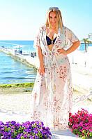 Женская пляжная туника БАТАЛ, фото 1