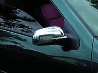 Хром накладки на зеркала Volkswagen Passat B5 1997-2005 (правое зеркало длинное) пластик