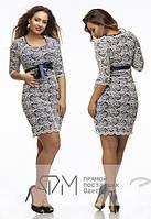 Гипюровое платье зе25, фото 1