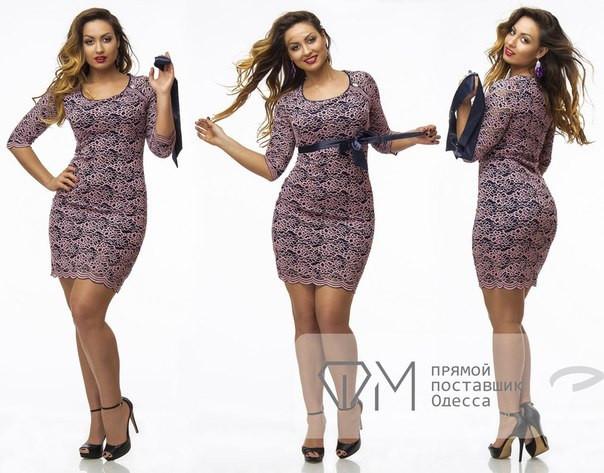 Гипюровое платье зе25