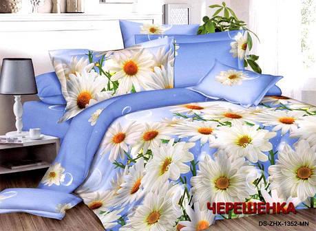Двуспальный набор постельного белья 180*220 из Ранфорса №286 Черешенка™, фото 2
