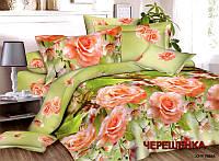 Двуспальный набор постельного белья 180*220 из Ранфорса №325 Черешенка™