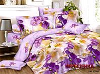 Двуспальный набор постельного белья 180*220 из Ранфорса №327 Черешенка™