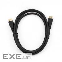 Кабель мультимедийный Display Port to Display Port 1.0m Cablexpert (CC-DP-1M)