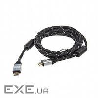Кабель Maxxter (CCB-HDMI4-10-2) HDMI - HDMI v.2.0, 3м, феррит, позол. коннект (CCB-HDMI4-10-2)