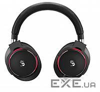 Наушники Bloody Hi Fi Golden Sound с микрофоном(всенаправленный), провод в оп (M550(Black+Red) MOCI)