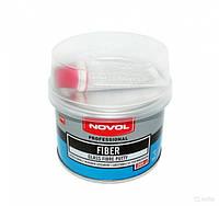 Шпатлівка Novol Fiber скловолокно 0,2 кг синя