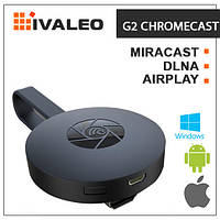 Беспроводной адаптер DLNA AirPlay Miracast G2 Google chromecast 2 tv stick 1080 P