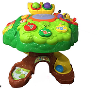 Детский развивающий музыкальный игровой столик Дерево ( аналог VTech) 91150
