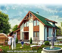 Строительство каркасного дома под ключ Харьков