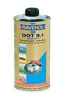 Тормозная жидкость DOT-5 RAVENOL /Германия/ - (1 л)