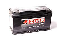 Аккумулятор ZUBR Ultra -100A +левый 820 пуск