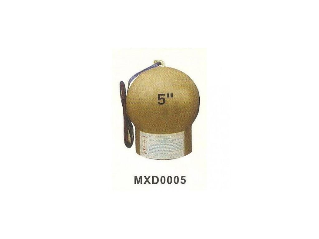 """(Фестивальный шар) GOLDEN WAVE TO RED 5 дюймов  """"Drakon"""" ZB-0013"""