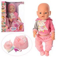 Пупс Baby Born BB 8006-456 (магнит соска, 9 функций, аксессуары)