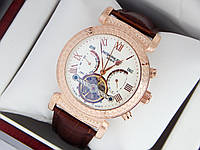 Наручные часы Patek Philippe Grand Complications Power Tourbillon золото, белый циферблат, фото 1