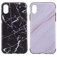 "TPU чехол Rock Origin Series (Textured marble) для Apple iPhone X (5.8"")"