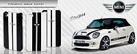 Чехол для iPhone 4/4S - MINI Cooper Metallic stripes