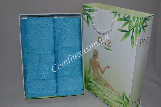 Комплект полотенец 2шт. (Бамбук 100%)