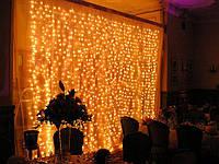 Гирлянды уличные (Штора, Занавес) 3 х 3 m (720 LED)