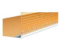 Профиль ПВХ УГЛОВОЙ с сеткой 100х150 мм CAPAROL, 2,5м