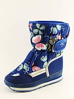 Зимняя обувь Дутики для девочек от фирмы Lilin 4B