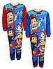 Пижама утепленная для мальчиков оптом  Paw Patrol 92/98-110/116 см.№831-954