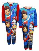 Пижама утепленная для мальчиков оптом  Paw Patrol 92/98-110/116 см.№831-954, фото 1