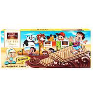 Детские вафли с шоколадным кремом FEINY BISCUITS, 225 г (5х45 г)