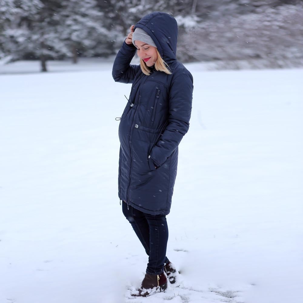 Зимнее пальто для беременных — Индиго - HAPPY MAMA - одежда для беременных  и кормящих, 7b03f8099d2