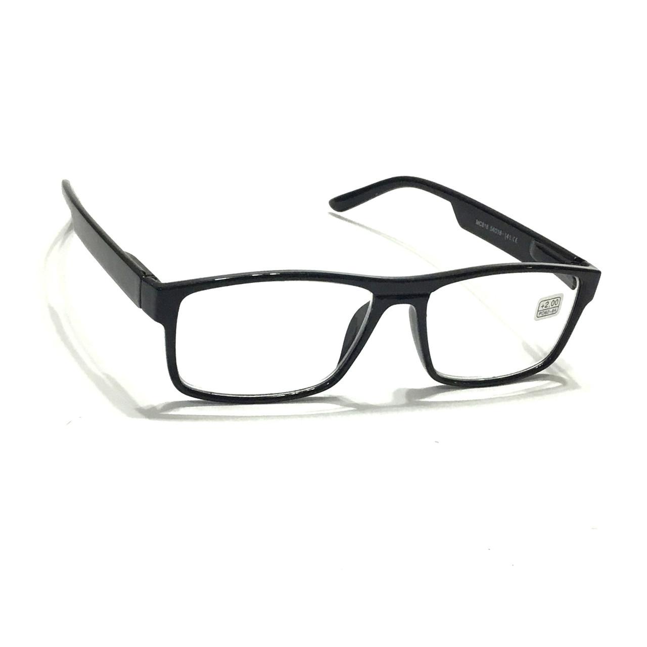 Очки корригирующие в пластмассовой оправе