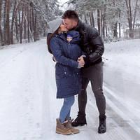 Зимняя слингокуртка 3 в 1 — Неви, фото 1