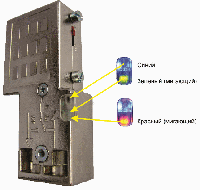 972-BA6000 Сетевой коннектор с LED - индикацией