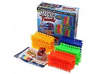 Трек MAGIC TRACKS 165 деталей, гнущийся трек, гоночная трасса, DPK034694