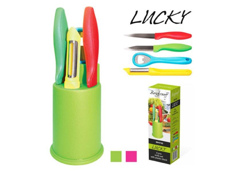 """Ножи кухонные """"Lucky"""" 5пр/наб, MH0785"""