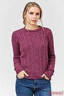 Теплый зимний женский свитер, джемпер