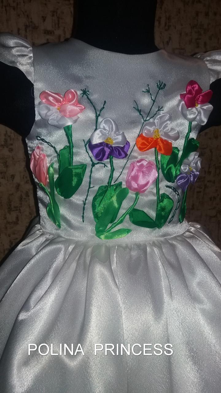 ... Детское белое платье  36dad085ce46e