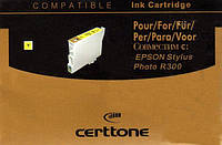 Картридж Certtone Epson Stylus Photo R300 T0484 (Yellow)
