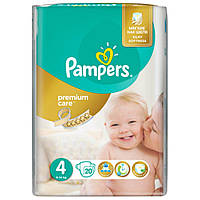 Подгузник Pampers Premium Care Maxi (8-14 кг) 20 шт (4015400740698)