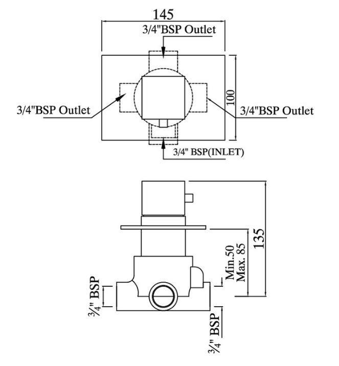 Jaquar KUB-CHR-35287