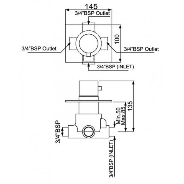 Jaquar FLR-CHR-5287