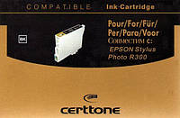 Картридж Certtone Epson Stylus Photo R300 T0481 (Black)