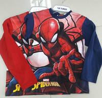 Реглан для мальчиков Spider-man оптом 98-128 см. арт.SHIRT-06