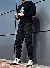 Мужские карго штаны черные ТУР SPARTACUS, фото 2
