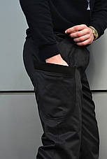 Мужские карго штаны черные ТУР SPARTACUS, фото 3